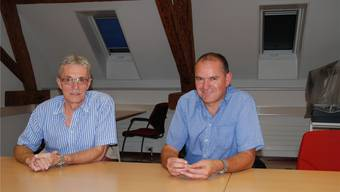 Meinrad Schraner (links) und Herbert Weiss setzen sich für Laufenburg ein.