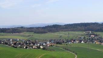 Ortsbild Dorfansicht Stüsslingen