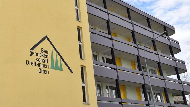 Die grösste Baugenossenschaft am Platz, die Dreitannen, verwaltet mehr als 260 Wohnungen auf städtischem Gebiet.