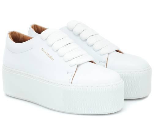 Sehr gefragt: Die Plateau-Sneaker Drihanna von Acne Studios. 358 Franken, bei stylight.ch