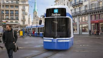 Ab 2020 soll das neue Flexity-Tram durch Zürich fahren.