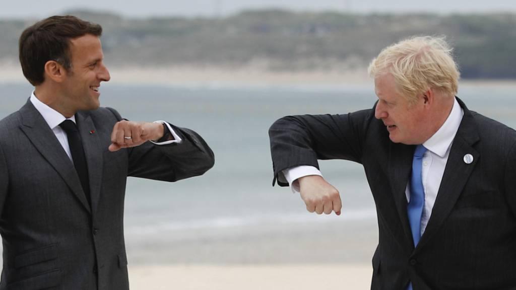 Gipfellauf am Strand: Johnson joggt vor G7-Sitzungen