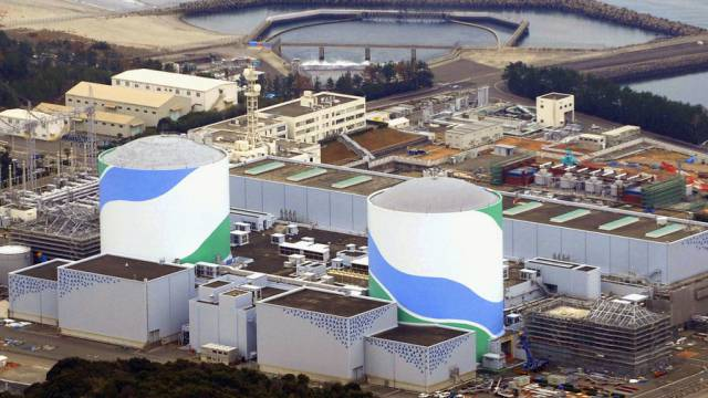 Das Atomkraftwerk Sendai (Foto: AP Photo/Kyodo News)