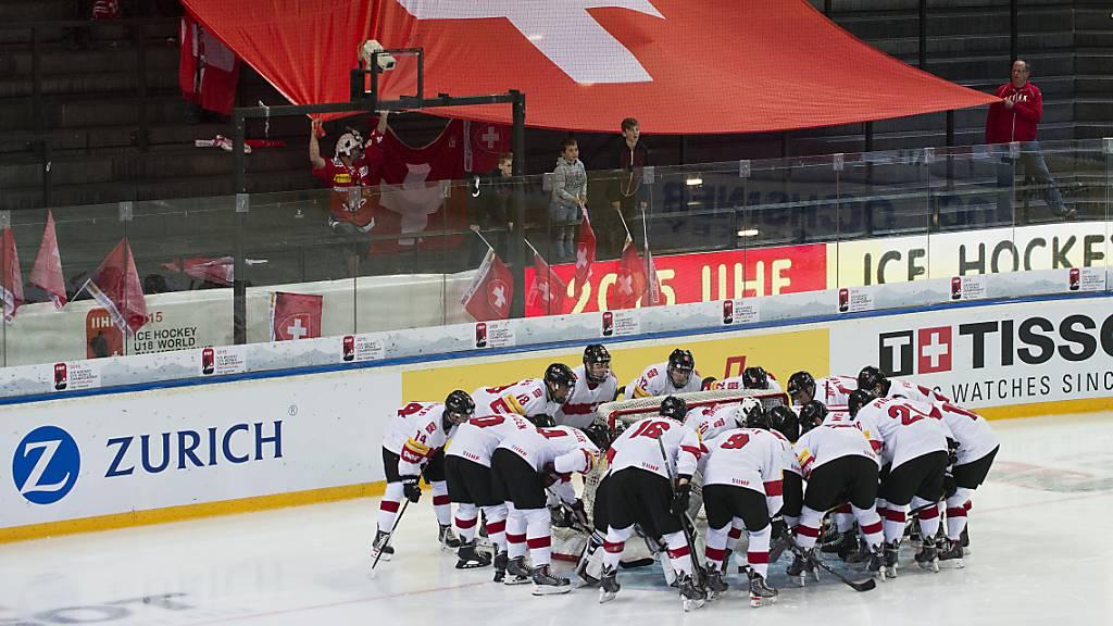 Die Schweizer U18-Auswahl vor der WM