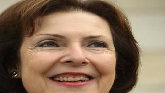 Christine Egerszegi ist zufrieden. (Archiv)