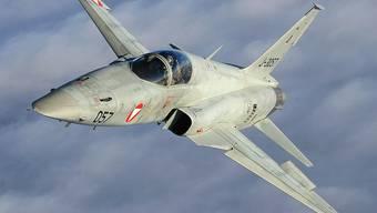 Die Tiger F-5 der Luftwaffe sind teilweise über 30 Jahre alt. KEY