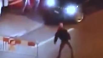 Zürcher Hooligans randalieren in Basel
