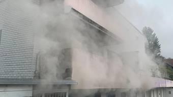 Wohnungsbrand Brugg