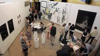 Die Liste Art Fair (hier an ihrem Stamm-Ort im Werkraum Warteck in Basel), kann trotz Ausweichort im September 2020 nicht stattfinden.