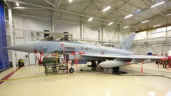 Die Deutschen loben den Eurofighter und möchten mit Bundesrat Guy Parmelin ins Geschäft kommen. Christian Timmig/Luftwaffe