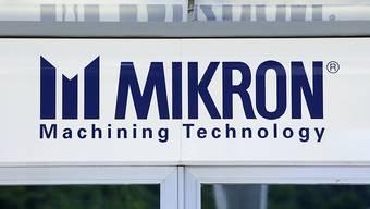 Der Maschinenhersteller Mikron hat ein Halbjahr zum Vergessen hinter sich. Das Unternehmen vermeldet einen Verlust in den ersten sechs Monaten - dies vor allem, weil amerikanische Kunden Investitionen auf die zweite Jahreshälfte verschoben haben. (Archiv)