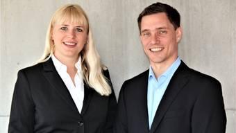 Stefanie Stirnemann (35) und Jonas Graf (37). ZVG