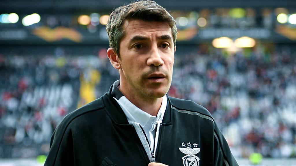 Benfica-Trainer Bruno Lage demissioniert