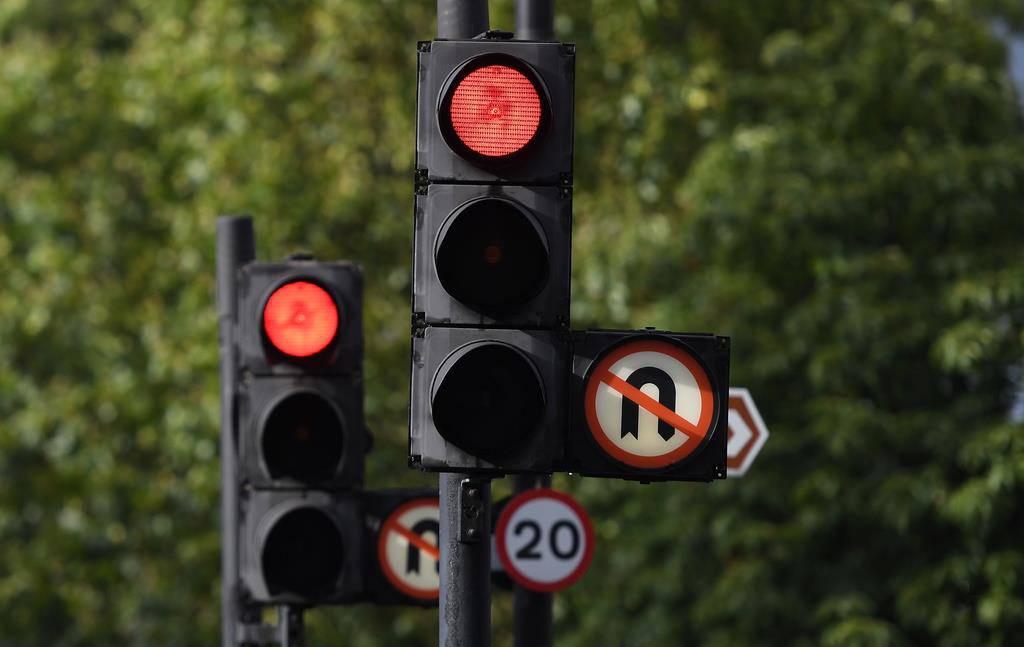Stromausfall in London (© Keystone)