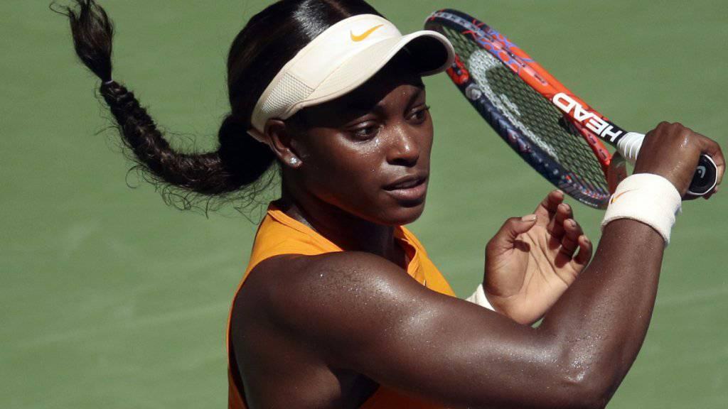 Sloane Stephens kann ihren Titel am US Open nicht verteidigen und scheidet in den Viertelfinals aus