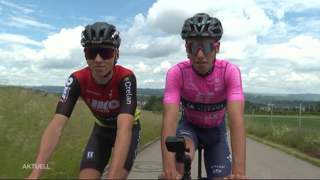 So bereiten sich Fabio und Jan Christen auf die Gippinger Rennen vor