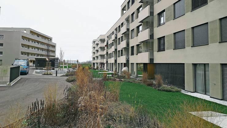 Hier in der Überbauung Lindenblick in Staufen hat die Wohnbaugenossenschaft Lenzburg 39 Wohnungen realisiert.