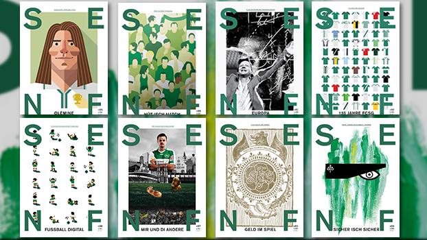 Bisher sind acht «Senf»-Ausgaben erschienen - und das Aus des St.Galler Fussball-Magazins ist in weite Ferne gerückt.