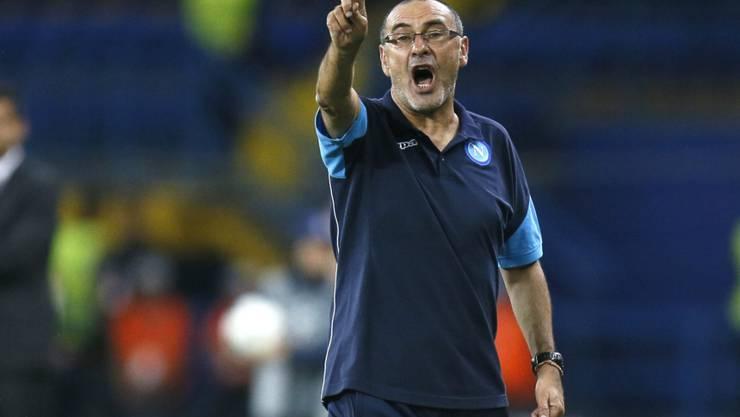 Soll nach Napoli auch Chelsea wieder in die Erfolgsspur führen: der neue Trainer Maurizio Sarri