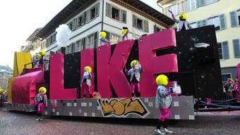 Für den Umzug in Solothurn gab es viele «Likes» aus dem Publikum