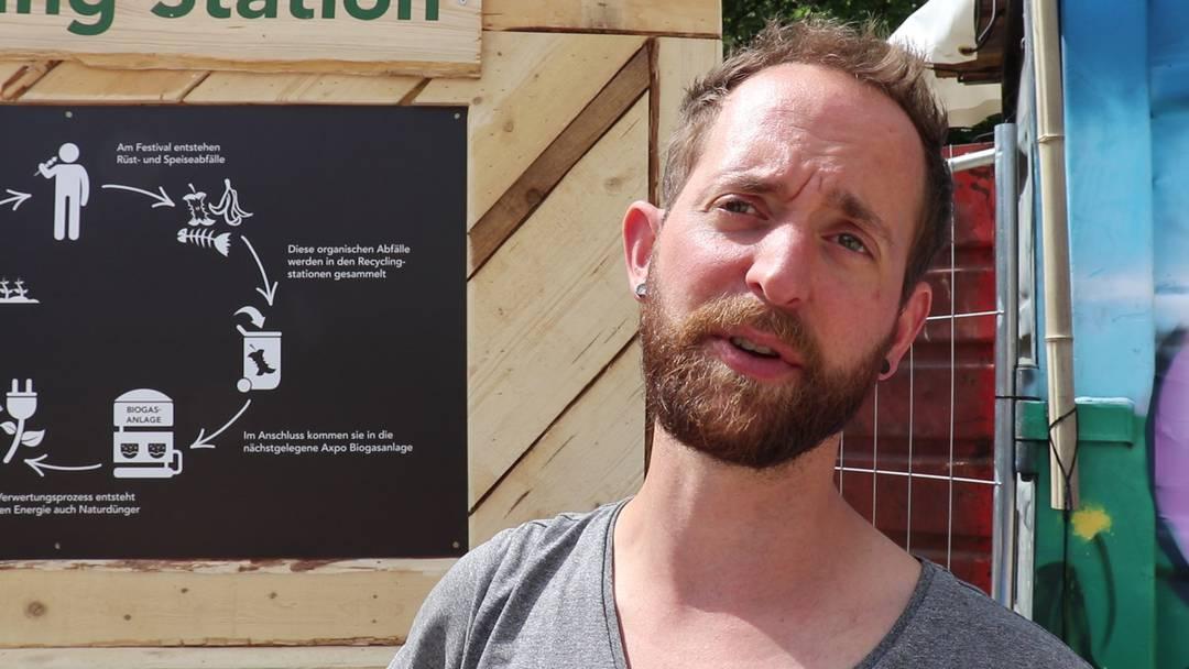 «Jetzt wird aus unserem Abfall Strom»: Mitorganisator Patrick Mösch im Interview