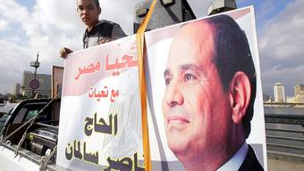 Die Frist endet am Montag: Für die Präsidentschaftswahl in Ägypten am 26. März meldete sich bisher erst Amtsinhaber Abdel Fattah al-Sisi an. (Archivbild)