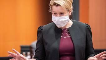 Franziska Giffey (SPD), deutsche Ministerin für Familie, Senioren, Frauen und Jugend, will Bürgermeisterin von Berlin werden. Foto: Michael Kappeler/dpa-pool/dpa
