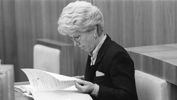 Carla Del Ponte rollte den Fall 1995 wieder auf.