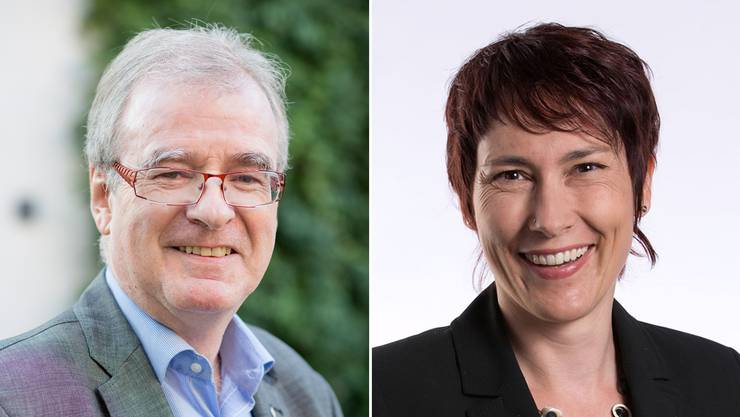 Daniel Vulliamy und Colette Basler.