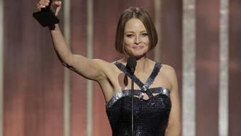 Jodie Foster dankt bei den Golden Globes ihrer Gefährtin
