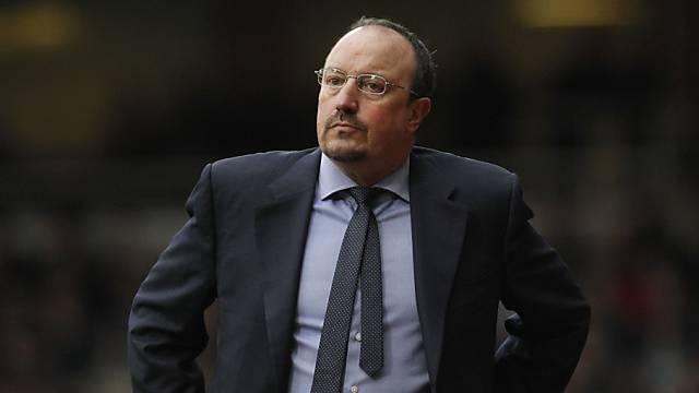 Rafael Benitez droht mit Chelsea das Aus in der Königsklasse