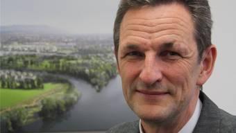 Wasserstadt-Promoter Ivo Bracher glaubt an die Wasserstadt.