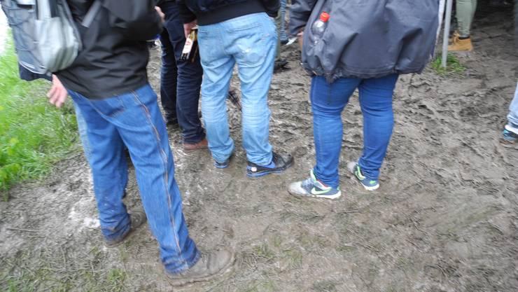 Robustes Schuhwerk konnte am diesjährigen «Technogrill» nicht schaden.