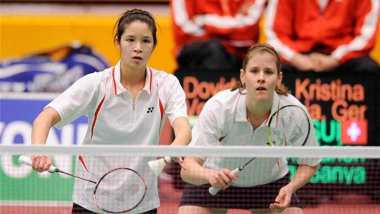 Wieder vereint: Sanya Herzig (links) und Marion Gruber für Uni Basel.