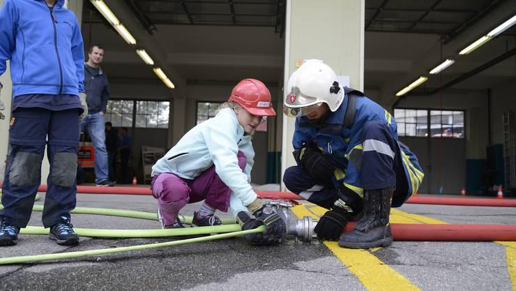 Feuerwehr-Hauptübung 2017 in Grenchen