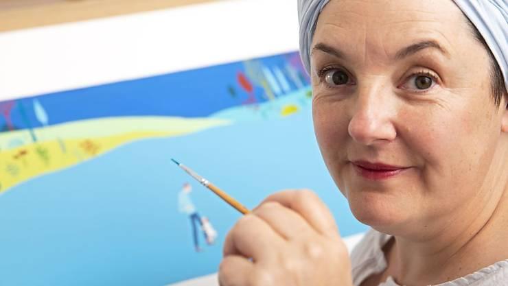 Die Genfer Kinderbuch-Illustratorin Albertine wird zusammen mit ihrem Mann mit dem renommierten Hans Christian Andersen-Preis 2020 geehrt. Was für schreibende Autorinnen und Autoren der Stift ist, ist für sie der Pinsel.