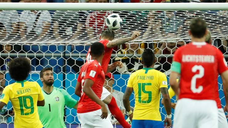 Der Quotenknaller 2018 schlechthin war mit 1,6 Millionen Zuschauern das WM-Spiel Schweiz-Brasilien.