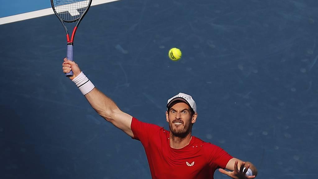 Fokussiert und athletisch wieder fit: Andy Murray