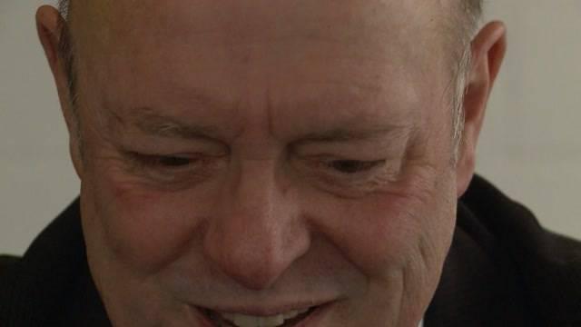 Grosser Tag: «Tele M1» hat Ulrich Giezendanner am Abstimmungssonntag begleitet.