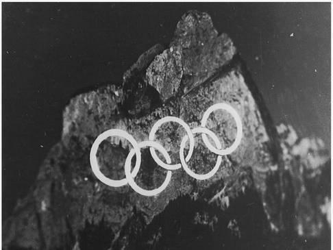 Der Einsatz des «Spitlight» an den Winterolympiaden 1956.