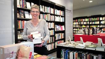 Petra Kiefer führt die Buchhandlung an der Steinentorstrasse mit Geist und Leidenschaft.