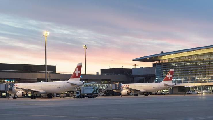 Ab 28. August werden am Flughafen Zürich wieder die periodischen Messflüge durchgeführt. (Symbolbild)