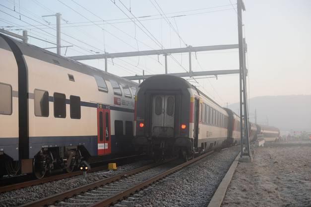 Der Lokführer des Interregios hatte vorschriftsgemäss den Bahnhof Rafz durchfahren