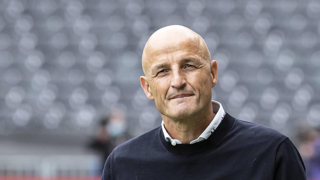 Peter Zeidler schaut zuversichtlich auf das Spiel gegen den FC Basel.