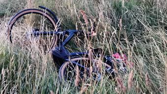Ein E-Bike-Lenker kam am Sonntagabend zu Fall und zog sich schwere Verletzungen zu.
