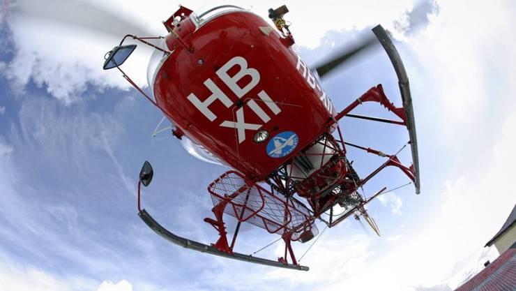 Der auf der Riederalp verunfallte Knabe wurde per Helikopter in ein Spital gebracht, wo er später starb. (Symbolbild)