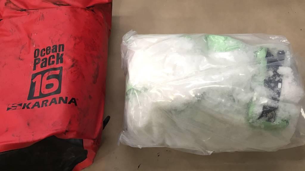 Fast eine halbe Tonne Crystal Meth beschlagnahmt
