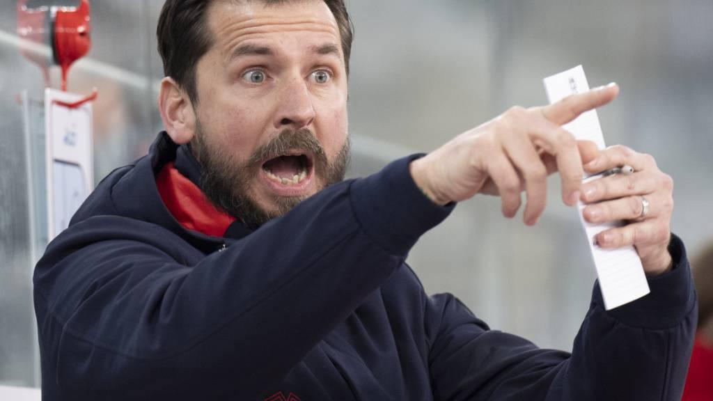 Headcoach Lars Leuenberger ist auch bei Olten stark engagiert
