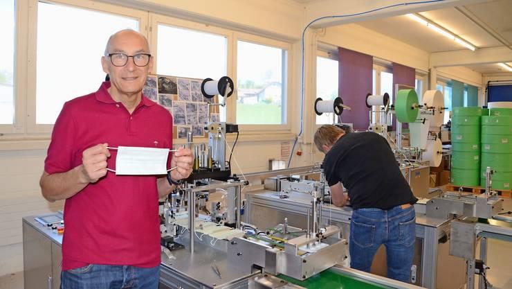 Felix Schönle vom Verbands- und Maskenhersteller Wernli in Rothrist: «Soll ich selber hingehen und mich vergewissern, dass die Standards eingehalten werden?»