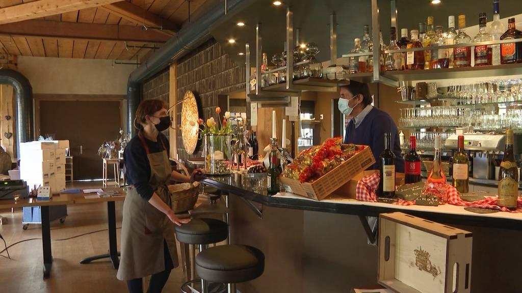 Geschlossene Restaurants bedrohen auch Lebensmittel-Lieferanten